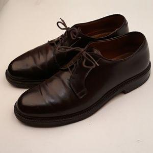 ALDEN 990 Plain Toe Blucher SZ 8.5 B/D SHELL Shoes